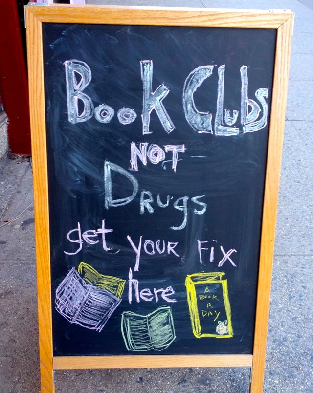 community bookstore book clubs