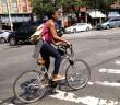 Biking on Flatbush