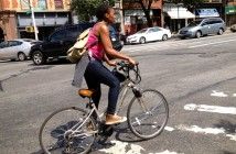 Biking on Flatbush