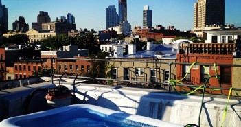 roof pool party via megzzzzk