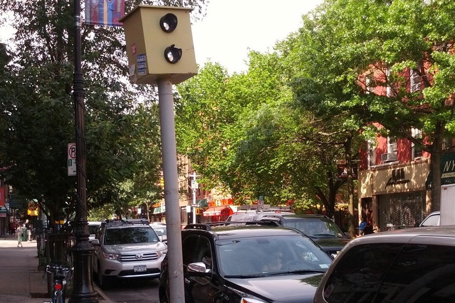 Red Light Camera on 5th Ave