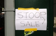 Stoop Sale Sign