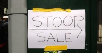 Stoop Sale Sign
