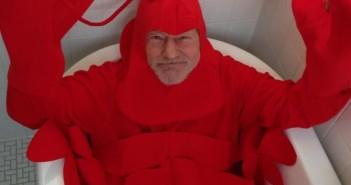 Lobster Patrick Stewart via Twitter