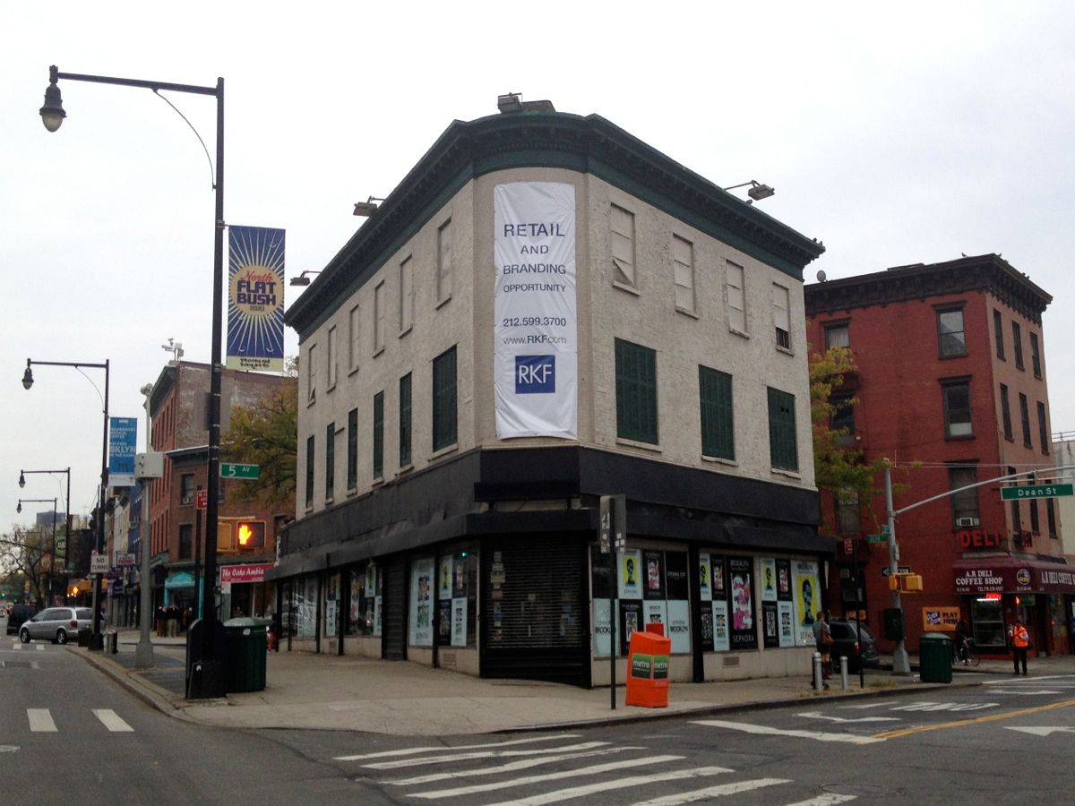 Triangle Sports Building, For Rent