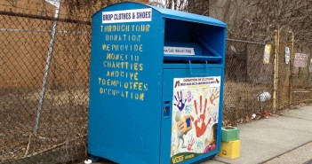 Clothing Donation Bin on DeGraw at 4th Ave