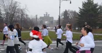 Runners in Prospect Park via FB