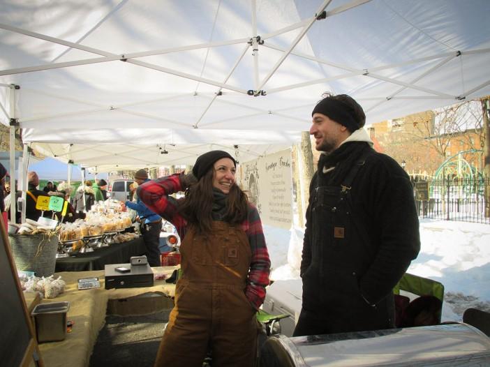 William De Filippis and Erica Pratico of Brooklyn Bean