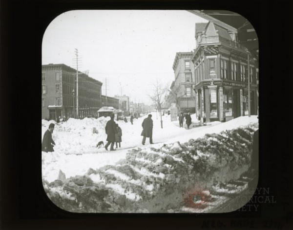 Flatbush & Atlantic Snow via Brooklyn Visual Heritage