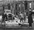 Men Clearing Snow via Brooklyn Public Library