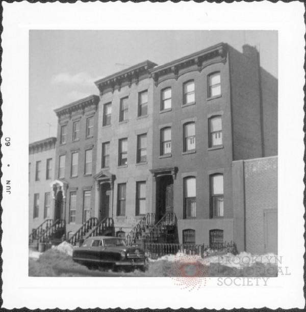 Park Place Snow via Brooklyn Visual Heritage