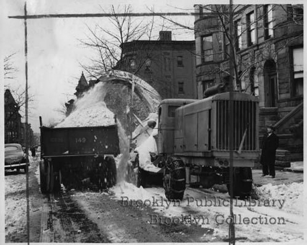 Snow Removal on Garfield via Brooklyn Public Library