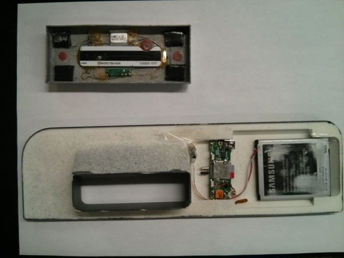 Card Skimming Device, via NYPD