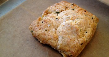 Du Jour Bakery cheddar chive biscuit