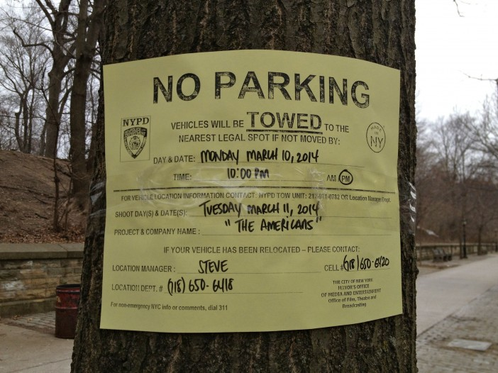 Film Shoot: The Americans on Prospect Park West