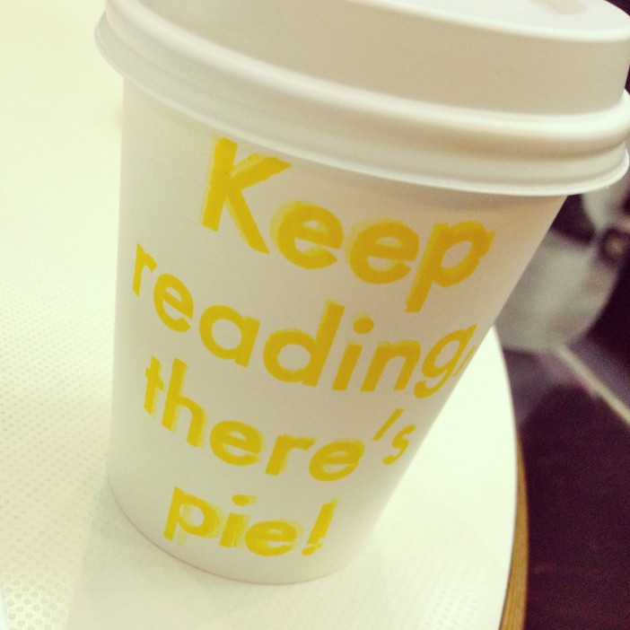 Coffee from Four & Twenty Blackbirds Cafe at Central Library