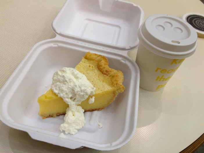 Lemon Chess Pie from Four & Twenty Blackbirds Cafe at Central Library