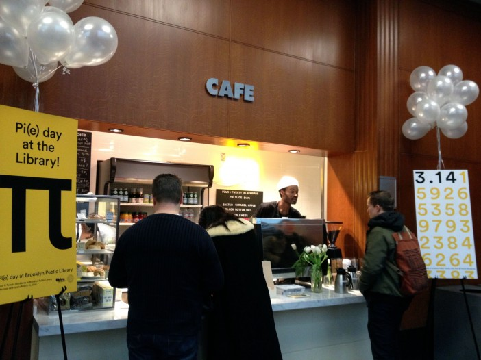 Four & Twenty Blackbirds Cafe at Central Library Opening Day