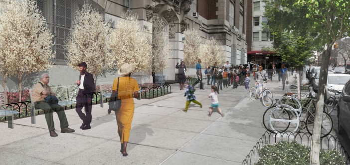John Jay Plaza rendering