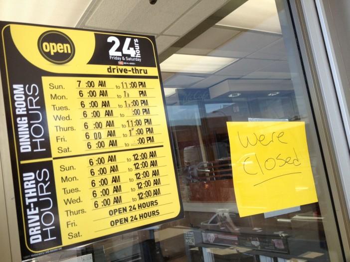 Now Closed: 4th Avenue McDonald's