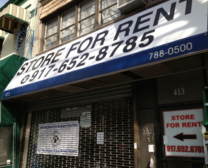 For Rent: 413 5th Ave, Former Park Slope Veterinary Care office