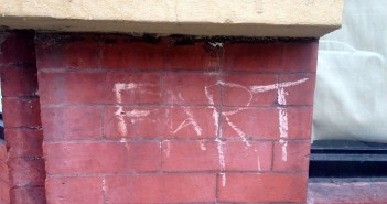 Fart graffiti by Robbie Chafitz
