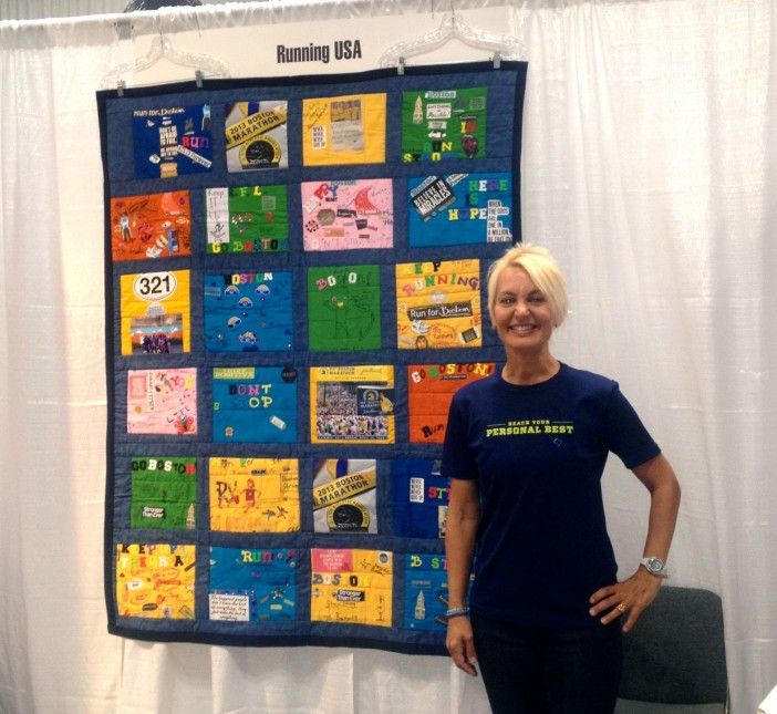 PS 321 Boston Strong Runners Quilt