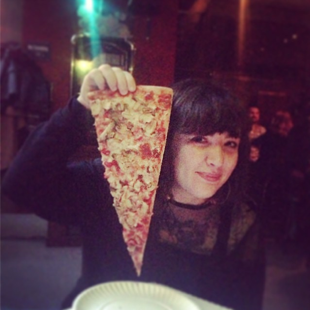 Roma Pizza: Giant Slice vs Nora