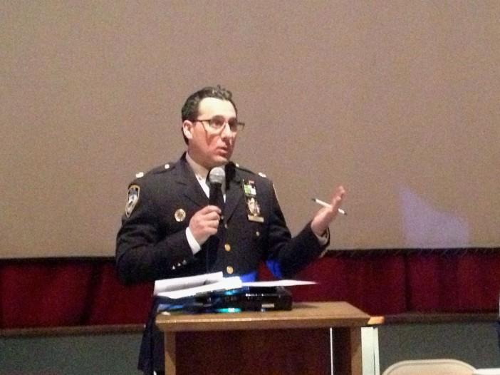 Vision Zero Meeting: Deputy Inspector Michael Ameri, 78th Precinct