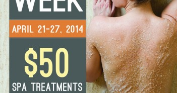 Venelle Spa Week April 2014