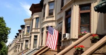 American Flag on 9th Street